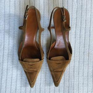 Prada Shoes | Suede sandal | Size 37